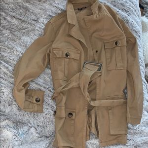Fashion nova tan jacket